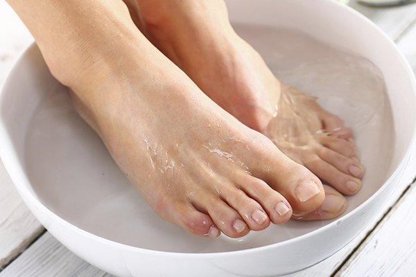 Ванночки для ног с имбирем