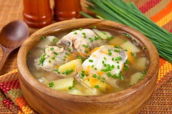 Рыбный суп при гипертонии