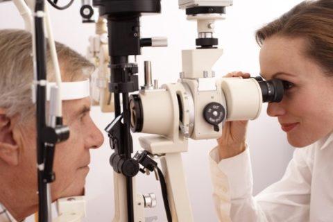 Диагностика нарушения зрения