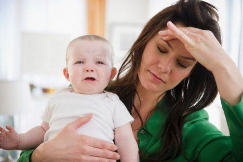 Гипотония у кормящей мамы