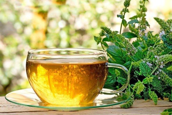 Чай с мелиссй