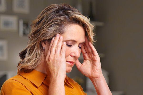 Высокое давление болит голова