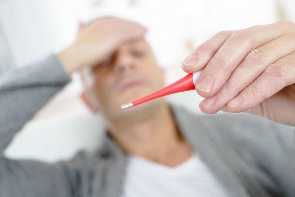 Повышение температуры при инсульте