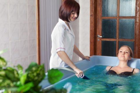 Ванна в медицинском учреждениях