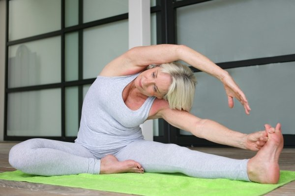 Йога при климаксе