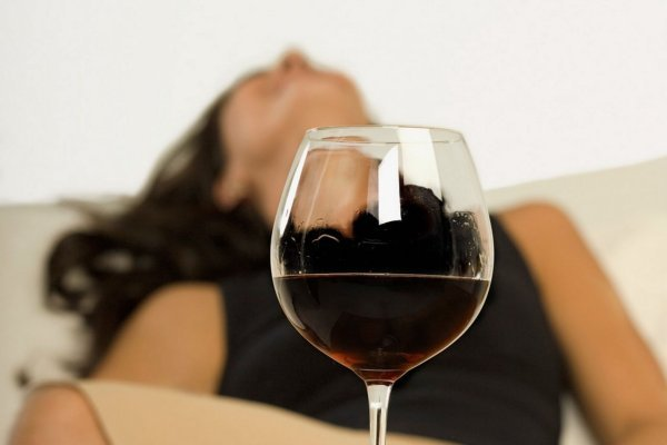 Отрицательное воздействие вина