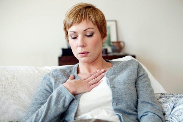 Симптомы хронического перикардита