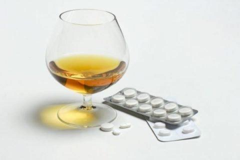Каптоприл и алкоголь