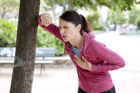 Боль в сердце после физических нагрузок