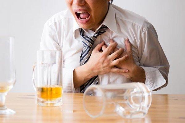 Причина смерти – алкогольная кардиомиопатия и сердечная недостаточность