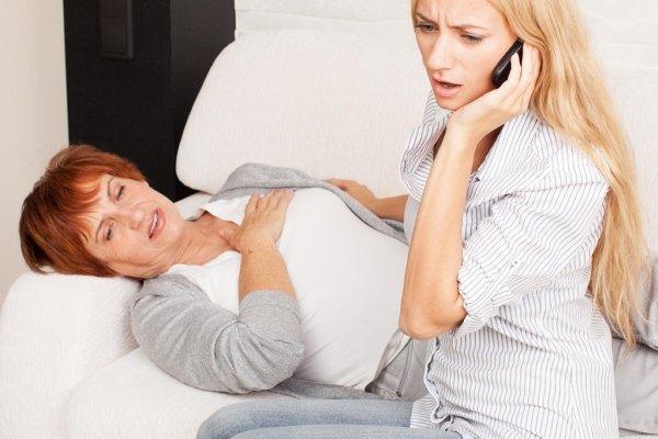 Бывает инфаркт у женщин