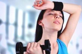 Понижение давления при занятии спортом
