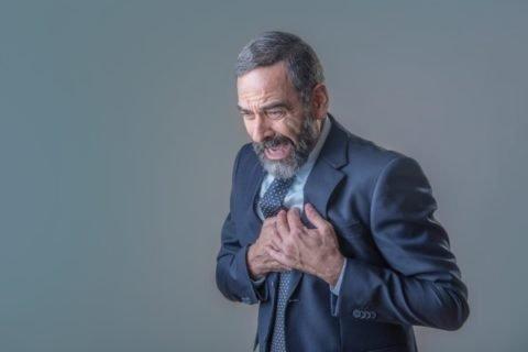 Боль в груди при стенокардии