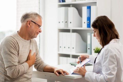 Больной с наджелудочковой пароксизмальной тахикардей