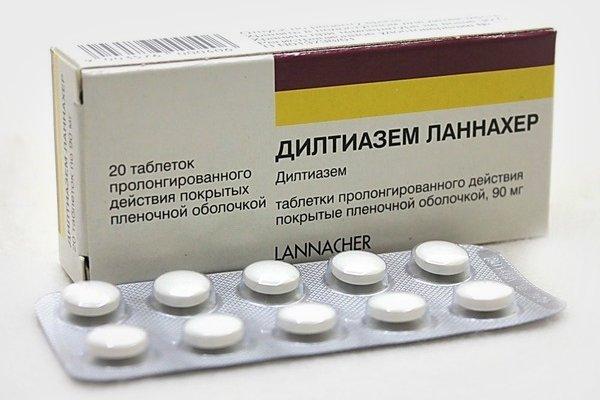 Препарат Дилтиазем Ланнахер