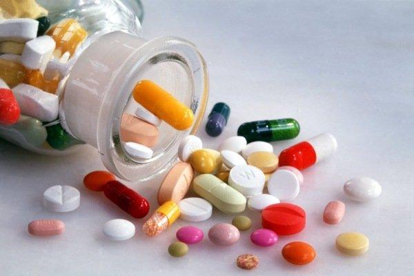 Разные таблетки в одной банке