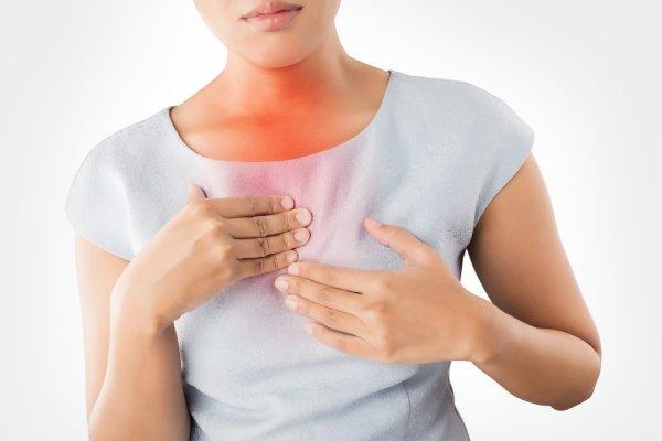 Боли в грудине