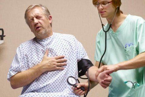 Инфаркт и давление