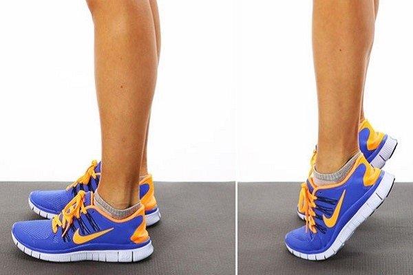 Покачивание на носочках
